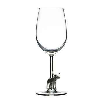 Menagerie Longhorn Wine Glass Image