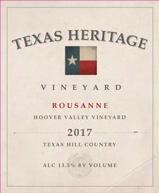 2017 Hoover Valley Roussanne